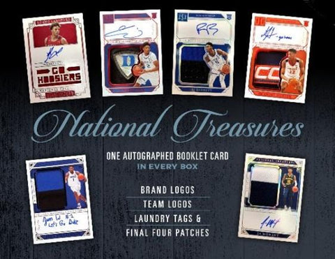 ZION!! 2019/20 Panini National Treasures Collegiate Basketball 1-Box Break #38 *RANDOM NUMBER BLOCK