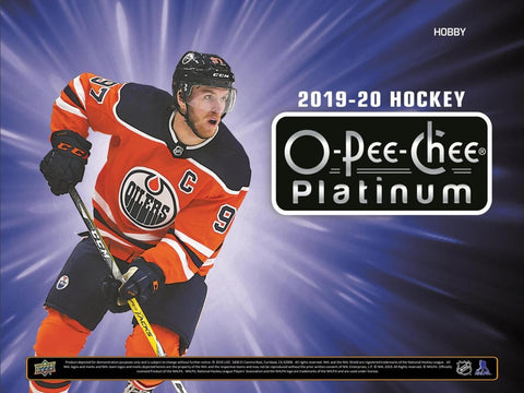 2019-20 Upper Deck O-Pee-Chee Platinum Hockey 8-Box Inner Case Break #1 *2 RT EACH*