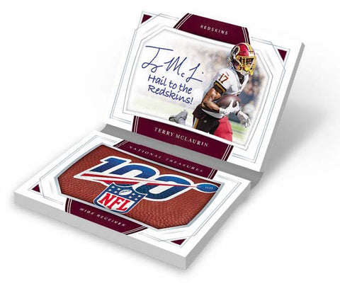 2019 Panini National Treasures Football 4-Box Hobby Case Break #2 *RANDOM TEAMS*