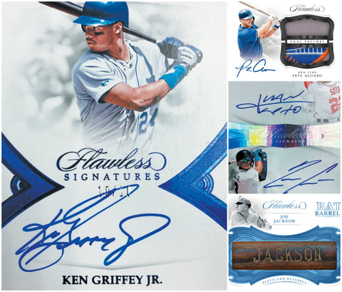 2019 Panini Flawless Baseball 2-Briefcase Full Case Break #4 *PICK YOUR TEAMS* (11/15)
