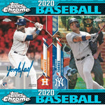 (8/7) 2020 Topps Chrome Baseball Hobby 12-Box Case Break #2 *PICK YOUR TEAMS*
