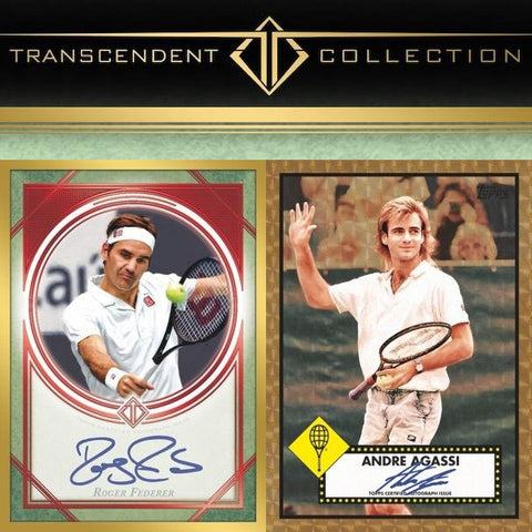 2020 Topps Transcendent Tennis Hall of Fame Collection Case Break #1 *Random Hit* (34 SPOTS)