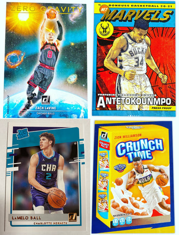 (Wed) 2020-21 Panini Donruss Basketball 2-Box Hobby Break #1 *2 RT EACH*