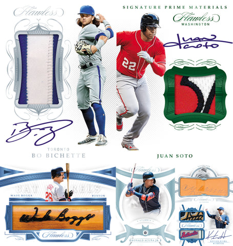 (12/4) 2020 Panini Flawless Baseball 2-Box Case Break #1 *PICK YOUR TEAMS*