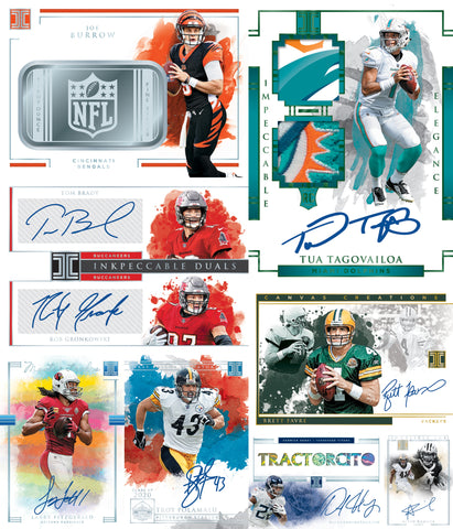 (11/25) 2020 Panini Impeccable Football 3-Box Case Break #4 *PICK YOUR TEAMS*