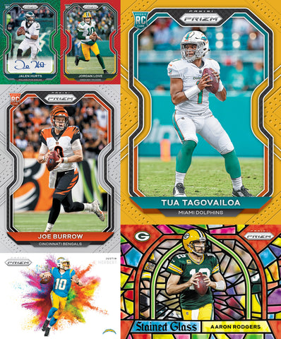 (12/02) 2020 Panini Prizm Football HOBBY 6-Box Break #3 *PICK YOUR TEAMS*