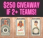 $250 GIVEAWAY IF 2+ TEAMS! 2020 Topps Allen & Ginter Baseball 12-Box Case Break #5 *PICK YOUR TEAMS PYT*
