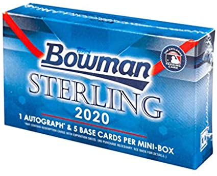 *10 BROOKLYN SPOTS GIVEN AWAY* // 2020 Bowman Sterling Mini Box Break #3 *RT*