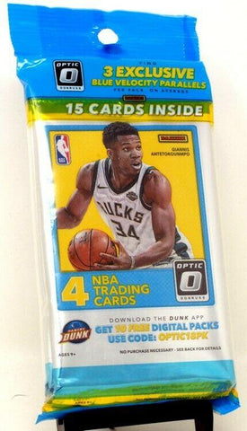 *14x OPULENCE SPOTS GIVEN AWAY* || 2017-18 Panini Donruss Optic Super Value Rack Pack 1-Pack Break #2122*RT*