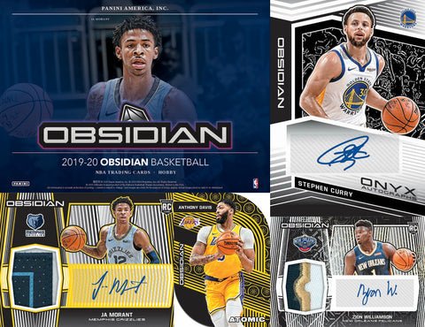 (WED) 2019/20 Panini Obsidian Basketball 12-Box Case Break #4 *PICK YOUR TEAMS*