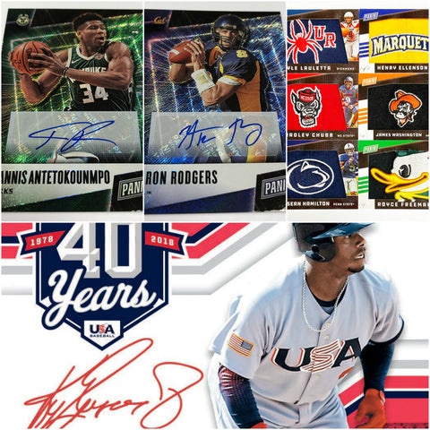 *FATHERS DAY PACK* 2019 PANINI STARS AND STRIPES BASEBALL PERSONAL BOX BREAK + 1 FATHER'S DAY PACK
