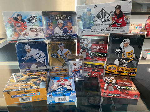 Jaspy's 11-Box NHL Bubble Hockey Mixer *RANDOM TEAMS* + BARZAL BGS 9.5 GEM GIVEAWAY + $200 IF SOLD TONIGHT!