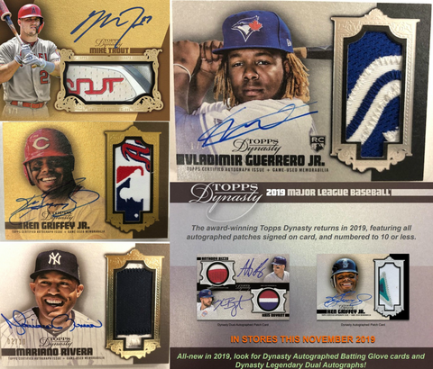 2019 Topps Dynasty Baseball 5-Box Case Break #15 *2 RANDOM PLAYERS EACH*