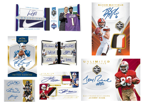 2018 Panini Limited Football 14-Box Case Break #4 *PICK YOUR TEAMS*