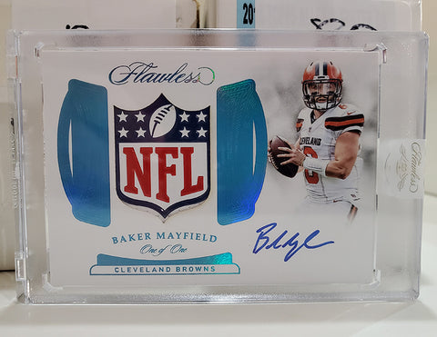 WIN THE BROWNS!* 2019 Panini Flawless Football PYT #10 Browns Spot Random