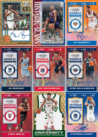 $300 GIVEAWAY!! // MUST HAVE 2+ TEAMS TO BE ENTERED! // 2019-20 Panini Contenders Optic HOBBY 2-Box Break #70 *PYT*