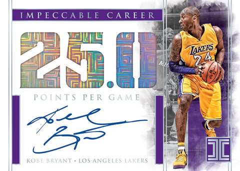 2019-20 Panini Impeccable Basketball 3-Box Case Break #24 *RANDOM TEAMS*