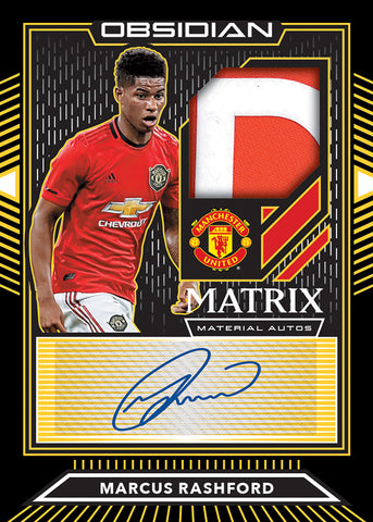 2019-20 Panini Obsidian Soccer 1-Box Break #35 *RANDOM NUMBER BLOCK*