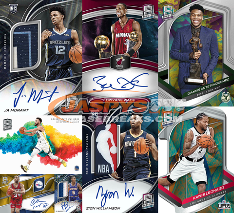 (THURS) 2019-20 Panini Spectra Basketball 4-Box 1/2 Case Break #7 *PICK YOUR TEAMS*