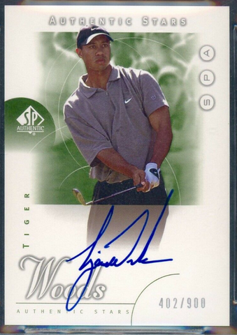 (CHASE HUGE $ TIGER ROOKIES!) 2001 Upper Deck SP Authentic Golf 1-Box Break #9 Random Pack*