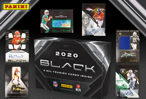 *10 NT FOTL SPOTS GIVEN AWAY* || 2020 Panini Black Hobby Football 1-Box Break #5 *RT*
