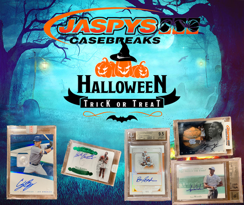"(10/31) JASPY'S ""TRICK OR TREAT"" 20-PACK BREAK #4 *GUARANTEED A HIT!*"