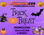 Jaspy's Halloween Trick or Treat Promotion! ALL DETAILS INSIDE! OVER $1,000+ IN PRIZES!