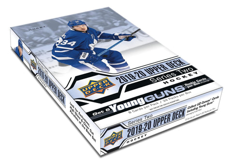 2019-20 Upper Deck Series 2 Hockey 12-Box Case Break #1 *PICK YOUR TEAMS*