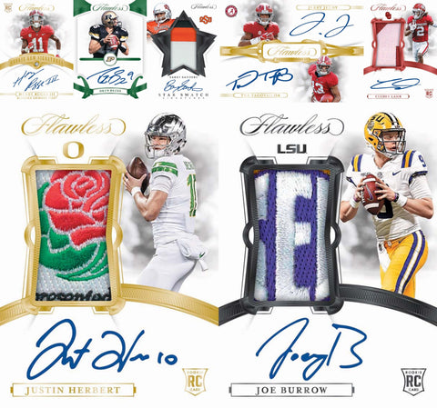 2020 Panini Flawless Collegiate Football 1-Box Briefcase Break #2 *PICK YOUR TEAM*