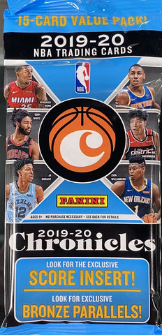 4x 18-19 PRIZM FOTL SPOTS GIVEN AWAY || 2019-20 Panini Chronicles NBA Fat Pack RT #375