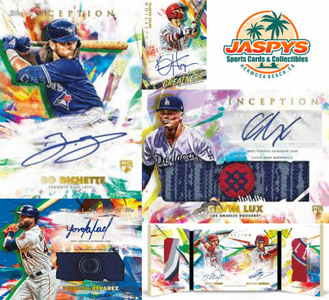2020 Topps Inception Baseball 16-Box Case Break #14 *PICK YOUR TEAMS*