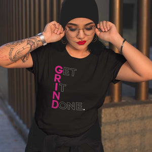 Get It Done (GRIND) Tee Shirt by Grind Legacy Apparel. Educate, Execute, Endure, and Empower.