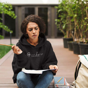Signature Series Hoodie - Black by Grind Legacy Apparel. Educate, Execute, Endure, and Empower.