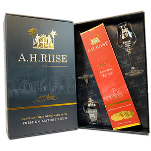 A.H. RIISE CHRISTMAS EDITION RESERVE ROM MED 2 GLAS