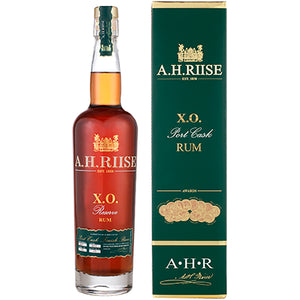 A.H. RIISE X.O. PORT CASK RESERVE RUM