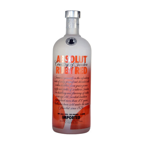 Absolut Vodka Ruby Red