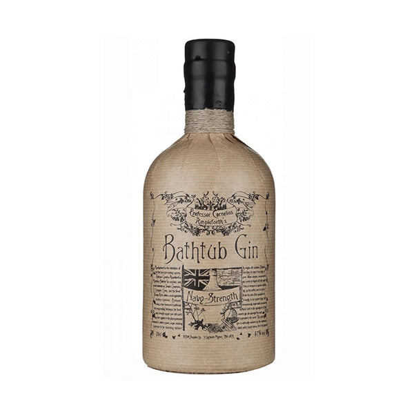 Bathtub Navy Strength Gin - Trekantens Is