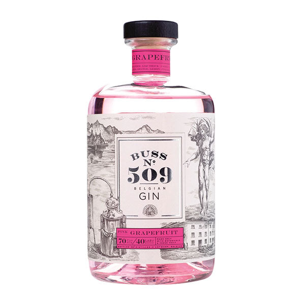 Buss No. 509 Pink Grapefruit Gin - Trekantens Is