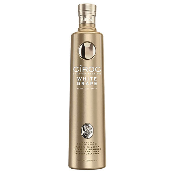 Ciroc Vodka White Grape Limited Edt. - Trekantens Is