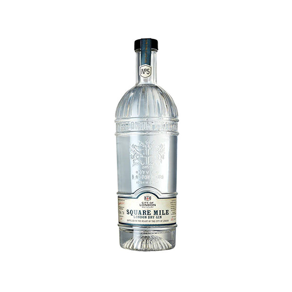 City Of London No.5 Square Mile Gin - Trekantens Is
