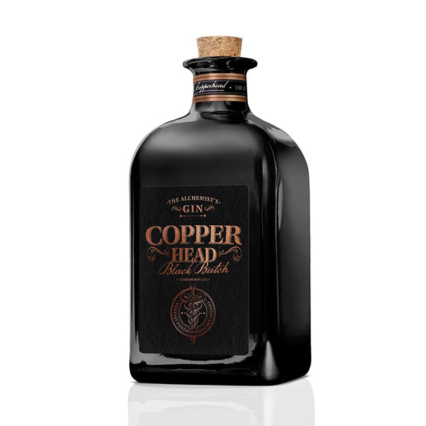Copperhead Black Batch Gin - Trekantens Is