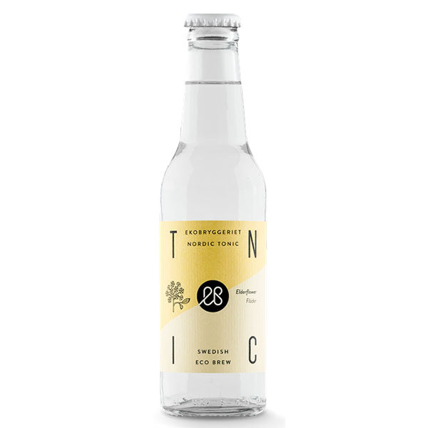 Elderflower, Økologisk-Tonic - Trekantens Is