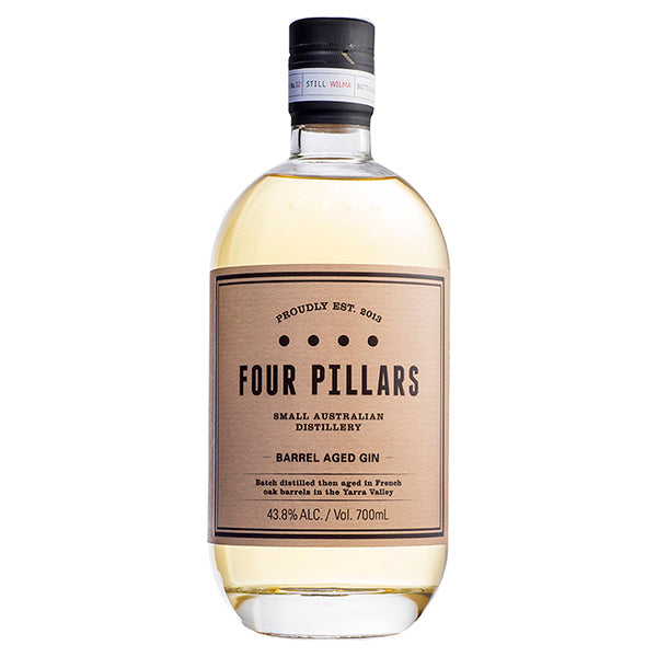 Four Pillars Barrel Aged Gin - Trekantens Is