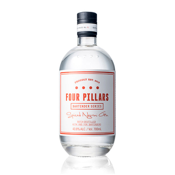 Four Pillars Spiced Negroni Gin - Trekantens Is