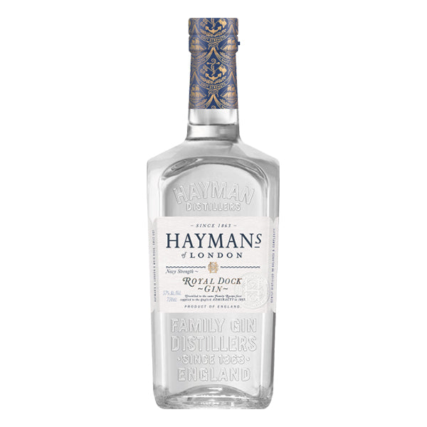 Haymans Royal Dock Navy Strength Gin - Trekantens Is