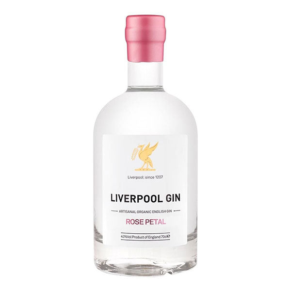 Liverpool Rose Petal Gin - Trekantens Is