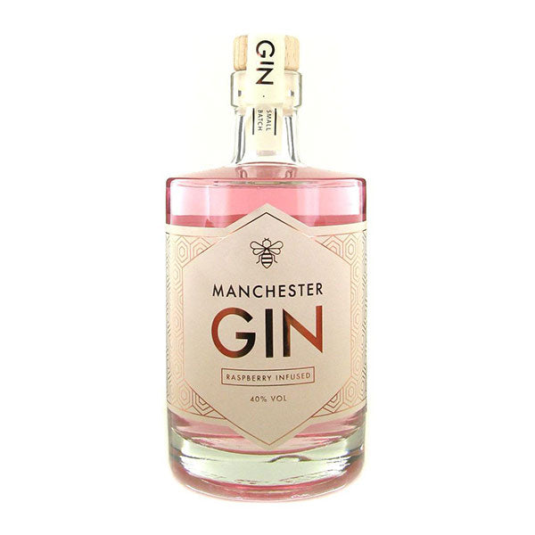 Manchester Raspberry Infused Gin - Trekantens Is
