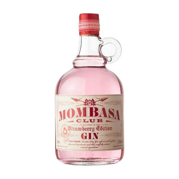 "Mombasa Club ""Strawberry Edition"" Gin - Trekantens Is"