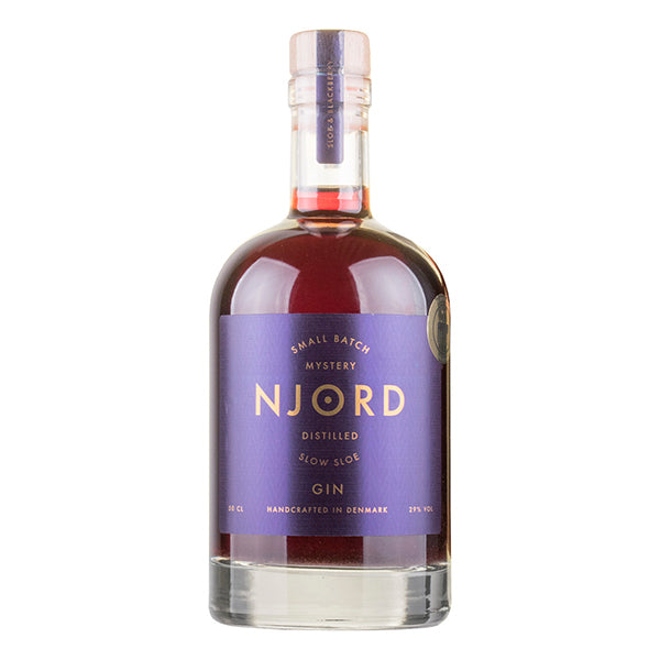 "Njord ""Slow Sloe"" Gin - Trekantens Is"