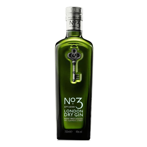 No.3 London Dry Gin - Trekantens Is